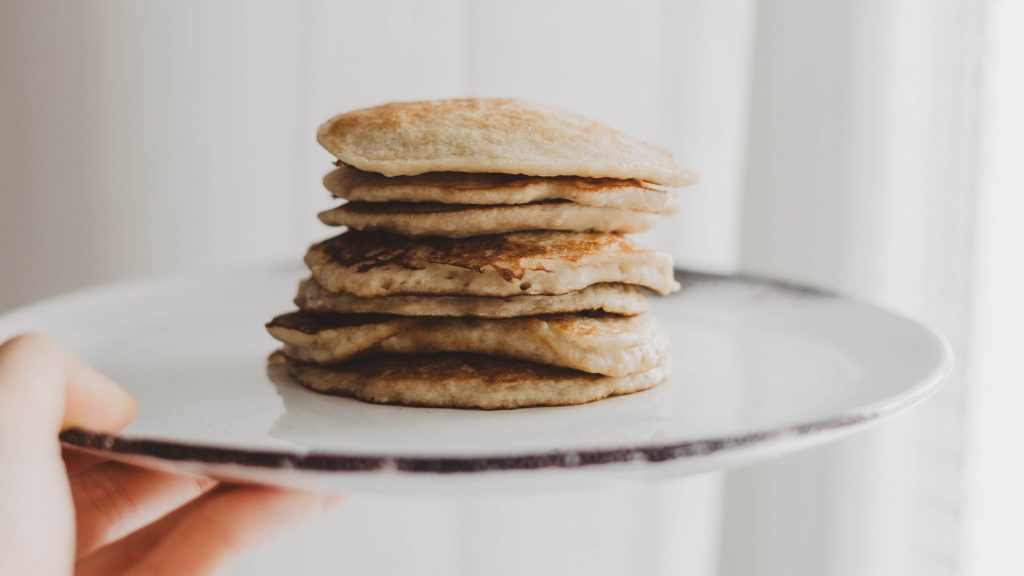 Banana Smoothie pancakes -Emalyse the Naturopath