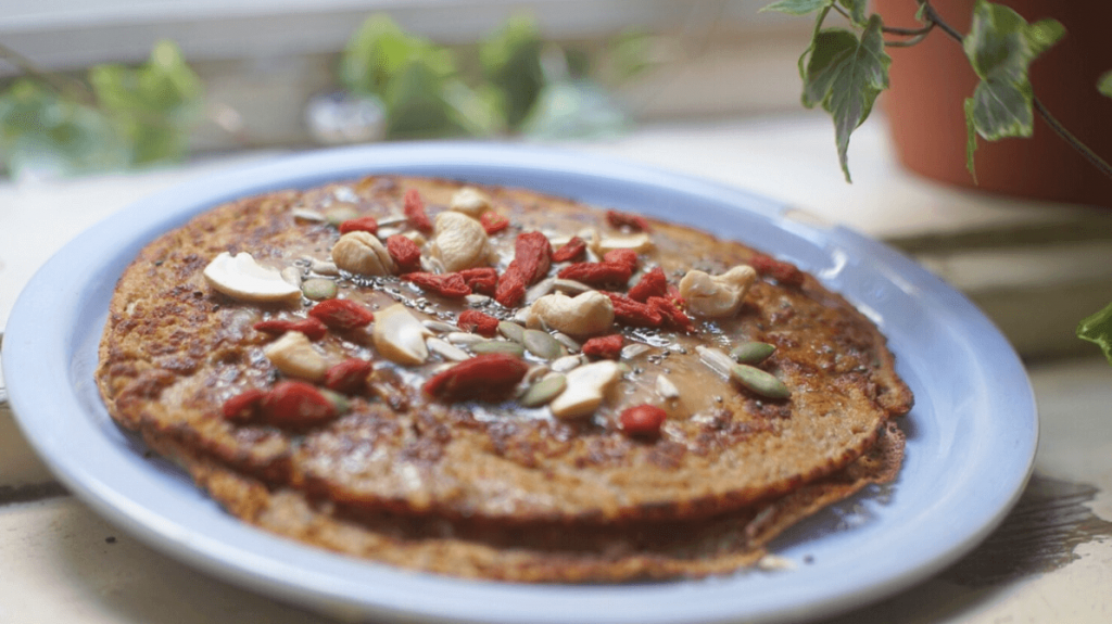 Chai Spiced Banana Oat Pancakes Recipe, by Emalyse the Naturopath