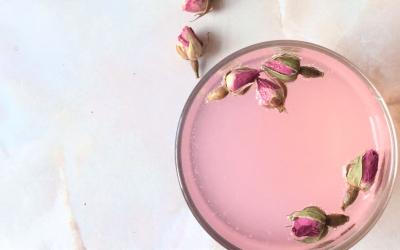 Magnesium rose lemonade