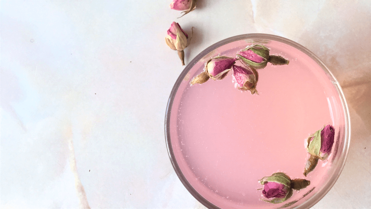 Magnesium Rose Lemonade, Recipe by Emalyse the Naturopath